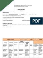Plan de Clases Semanales Suspension y Direccion