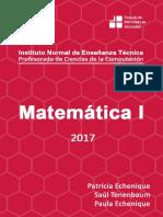 Matematica I 2017