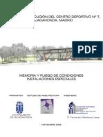 Megafonia Centro Deportivo