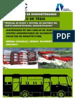 Construcción Terminal de Buses