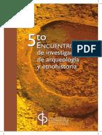 5to Encuentro de Arqueologia