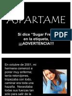 5 Aspartame Veneno Mortal en Nuestra Dieta