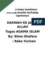 Agama Islam Komitmen Seorang Muslim Terhadap Agamanya