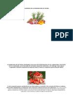 Alquenos en La Maduracion de Frutas