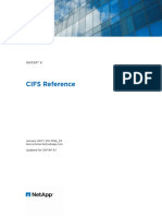 Ontap 90 Cifs Reference