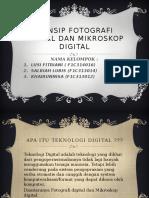 Prinsip Fotografi Digital Dan Mikroskop Digital