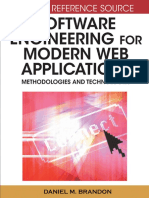 Software Eng for Modern Web Apps