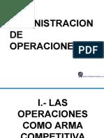 3_Capítulo Uno Administración de Operaciones