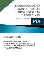 4. Pengorganisasian, Aspek Perilaku Dan Perubahan Organisasi Dan