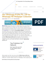 150+ Whatsapp Profile Pic _ DP for Whatsapp Wallpaper Collection