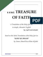 Kanzul Iman - Treasure Of Faith - Aqib Farid AlQadri