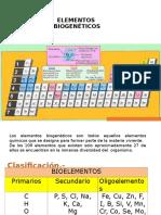Bioelementos,Enl Qcos, Comp Inorganicos