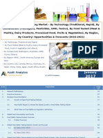 Global Food Safety Testing Market - By Technology, By Contaminant, By Food Tested, By Region, By Country - Opportunities & Forecasts (2016-2021)