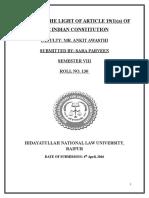 Sara VIII C Media and Law