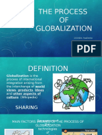 Process of globalization