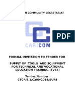 Tender Documents-Supply and Installation of TVET Equipment and Tools (4) (23) Feb Final