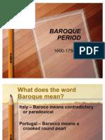 Report in Baroque