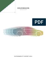 Volkswagen Sustainability Report 2014