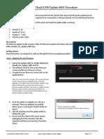 CloudII FW Update 0005 Update Instructions
