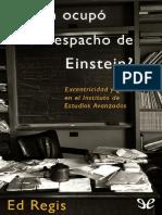 Quien ocupó el despacho de Einstein