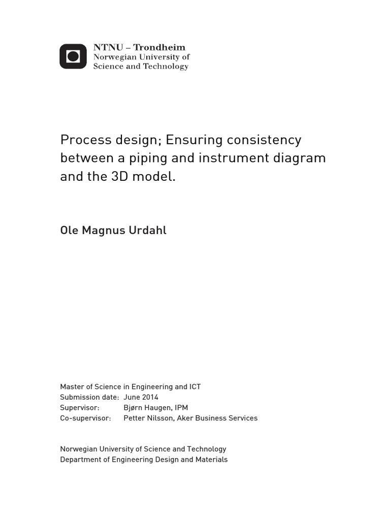 Aveva Pid Diagram Process Design Ensuring Consistency Between A Piping Instrumentation Images 3d Model Throiugh Diagrampdf Usability Xml