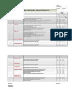 46-47 RTF Weekly Maintenance Chart