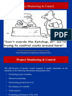 PAM 6th Project Control Audit