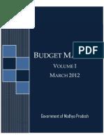 Budget Manual Vol I [Eng]