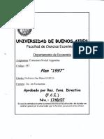 Programa de Estructura Social Argentina