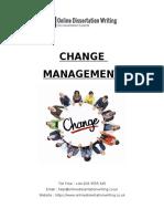 Sample on Change Management
