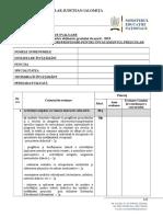 FISA GRADATIE de MERIT Educatori Institutori Profesori Pt Inv Prescolar 2013