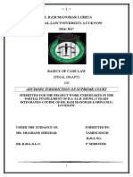 Project Basics of Case Law