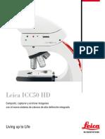 Leica ICC50HD Brochure ES