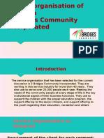Service Organisation of Australia 3Bridges Community Incorporated