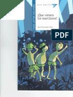¡Que Vienen Los Marcianos! - Libro de Actividades26032017