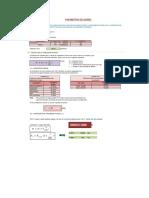 2.-Parámetros Del Reservorio de sección cuadrada