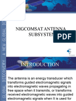 Nigcomsat Antenna FINAL LECTURE