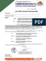 DIRECTIVA N° 050 - 2009/UGEL.04-J.AGA-E.ABAST-E.PATRIMONIO