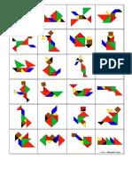 Atividades tangram