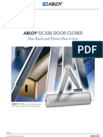 Abloy DC335 Door Closer