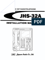 JRC JHS-32A VHF Installation Manual