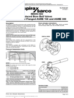 M40Hi ISO Reduced Bore Ball Valves DN25 to DN150 Flanged ASME 150 and ASME 300-Technical Information