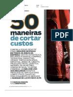 50 Maneiras de Cortar Custos - Revista PEGN