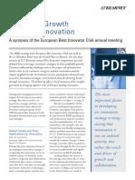 Crecimiento Económico a Través de La Innovación
