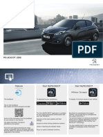 Handbook Peugeot 208 Europe