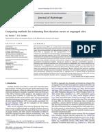 Booker & Snelder 2012 Methods for FDC at Ungauged Sites