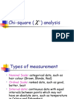 6 Chi-square Analysis