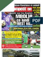 Edition du  15/07/2010
