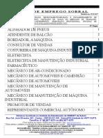 Vagas de Emprego de Sobral- 31.03.17
