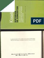 Koselleck, Reinhart. Sobre Bildung
